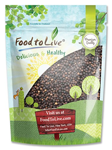 Food To Live Black Pepper Whole (Peppercorn) (4 Pounds) by Food To Live