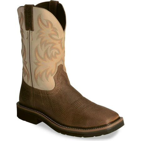 Justin Original Work Jow Men S Justin Stampede Copper