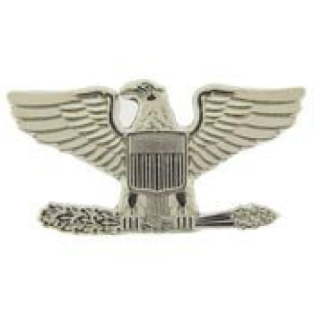 Metal Lapel Pin - US Army Pin & Emblem - US Army Rank Colonel (Left)