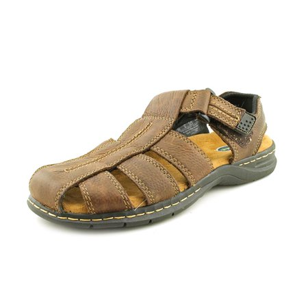 fb8fc2a19cca Dr. Scholl s Shoes - Dr. Scholl s Gaston Round Toe Leather Fisherman Sandal  - Walmart.com