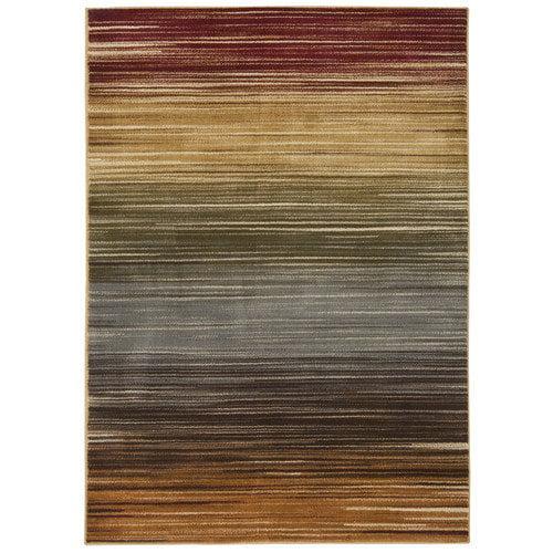 """Nourison 3'11"""" x 5'10"""" Paramount Multicolor Rectangle Area Rug by Nourison"""