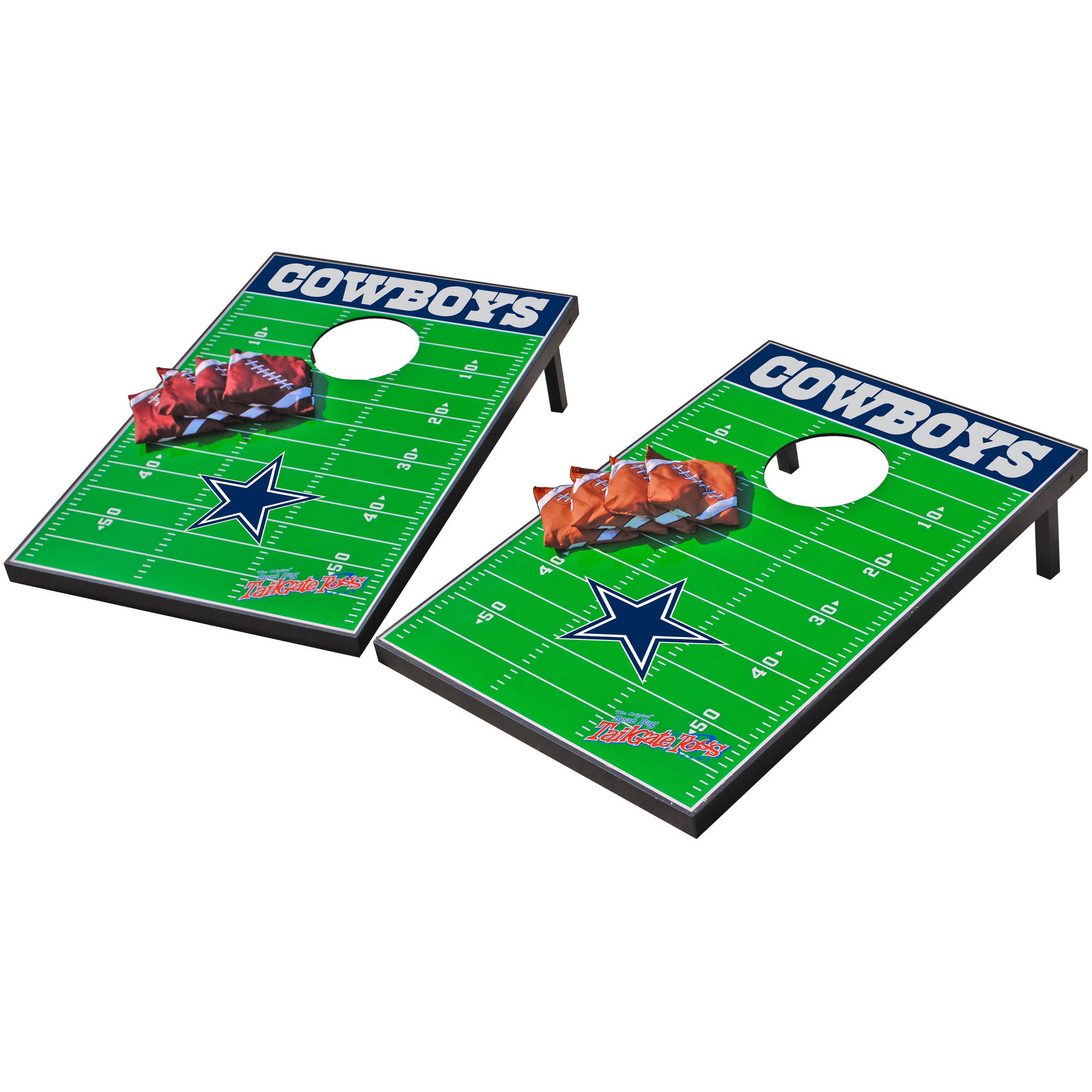 Click here to buy Wild Sports NFL Dallas Cowboys 2x3 Field Tailgate Toss by Wild Sports.