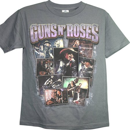 Guns N' Roses 2012 Live at The Joint Las Vegas 12 Dates 2 Sided Adult T-Shirt