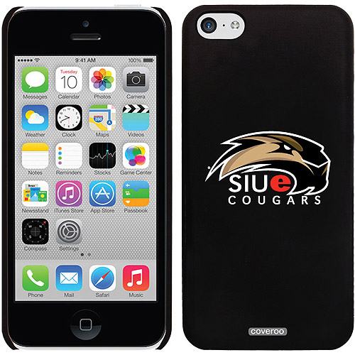 Coveroo Southern Illinois Edwardsville Primary Mark White Design Apple iPhone 5c Thinshield Snap-On Case