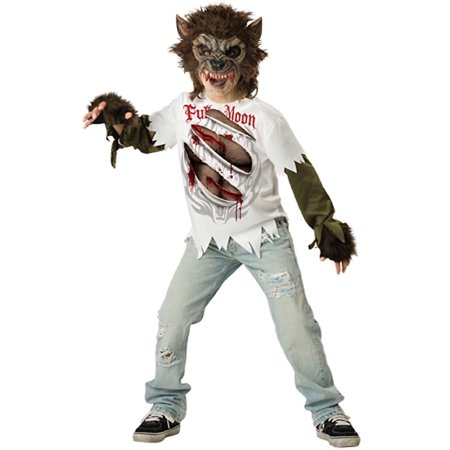 Werewolf Child Halloween Costume, X-Large - Werewolf Halloween Costume Child