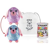 Delilah Dog Shimmeez Sequin Plush and Unicorn Slime with Exclusive Pack A Hatch