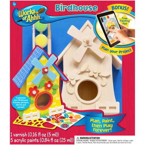 MasterPieces Works of Ahhh Birdhouse, 1 Each