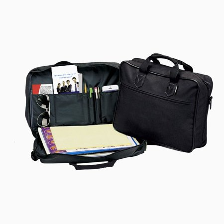 BLACK SOFT SIDE BRIEFCASE