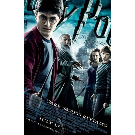 Harry Potter Half Blood Prince Movie Poster 24X36 Poster Art