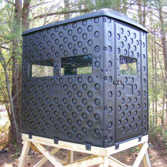 Homemade Portable Hunting Blinds deer blinds