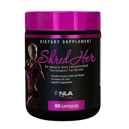 NLA For Her - Shred Son All Natural Ultra concentré thermogénique brûleur de graisse - 60 Capsules
