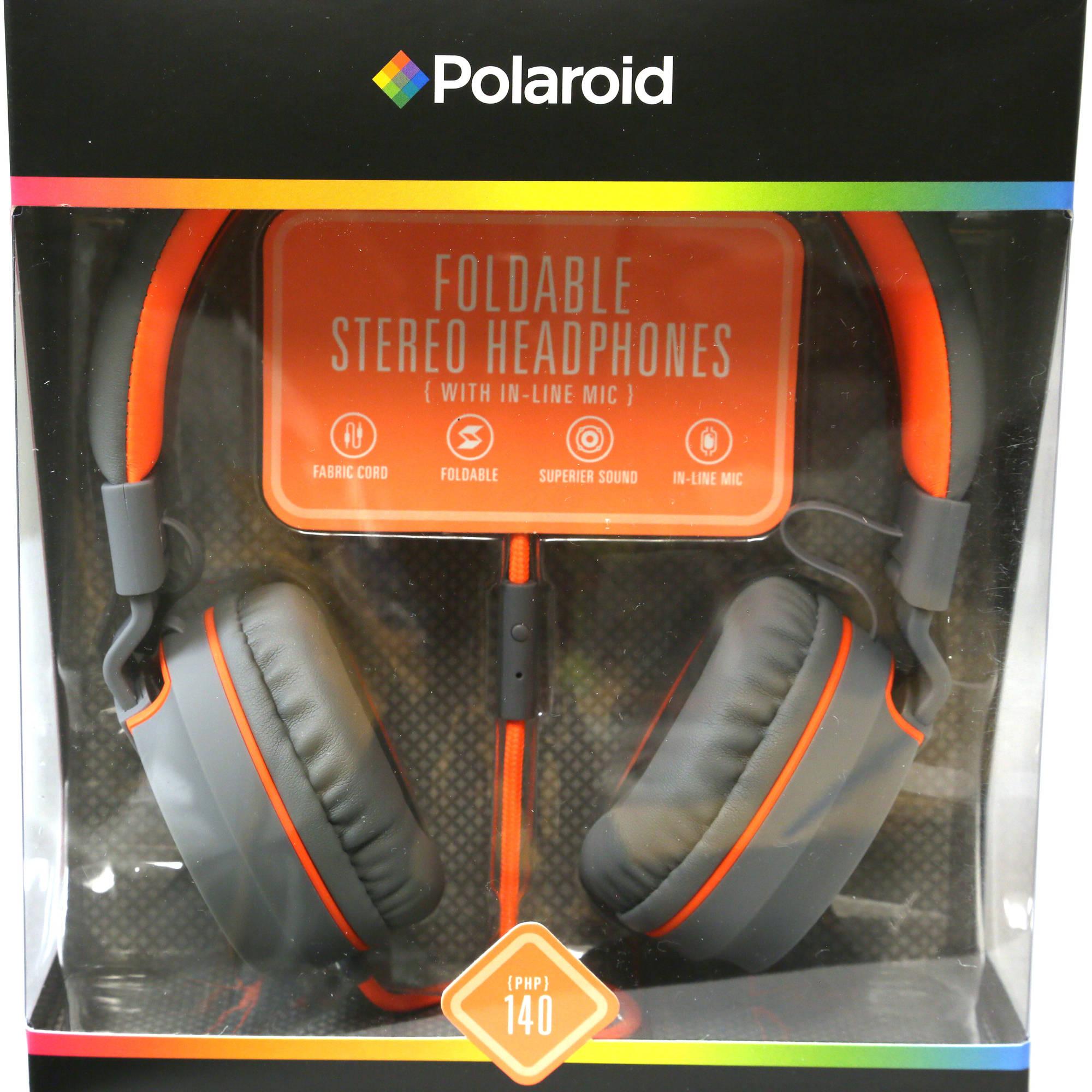 Polaroid PHP140 Foldable Headphones