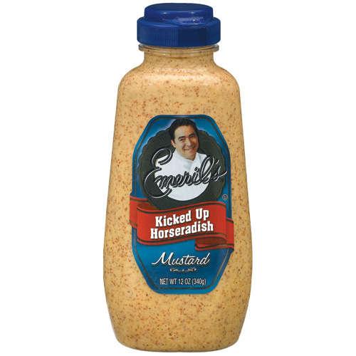 Emeril's Kicked Up Horseradish Mustard, 12 Oz
