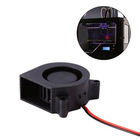 1pc 12V DC Cooling Air Fan Printer Accessories for 3D Print Hotend Extruder Air Blower , 3D Printer Fan, Printer (Best Air Printer App For Ipad)