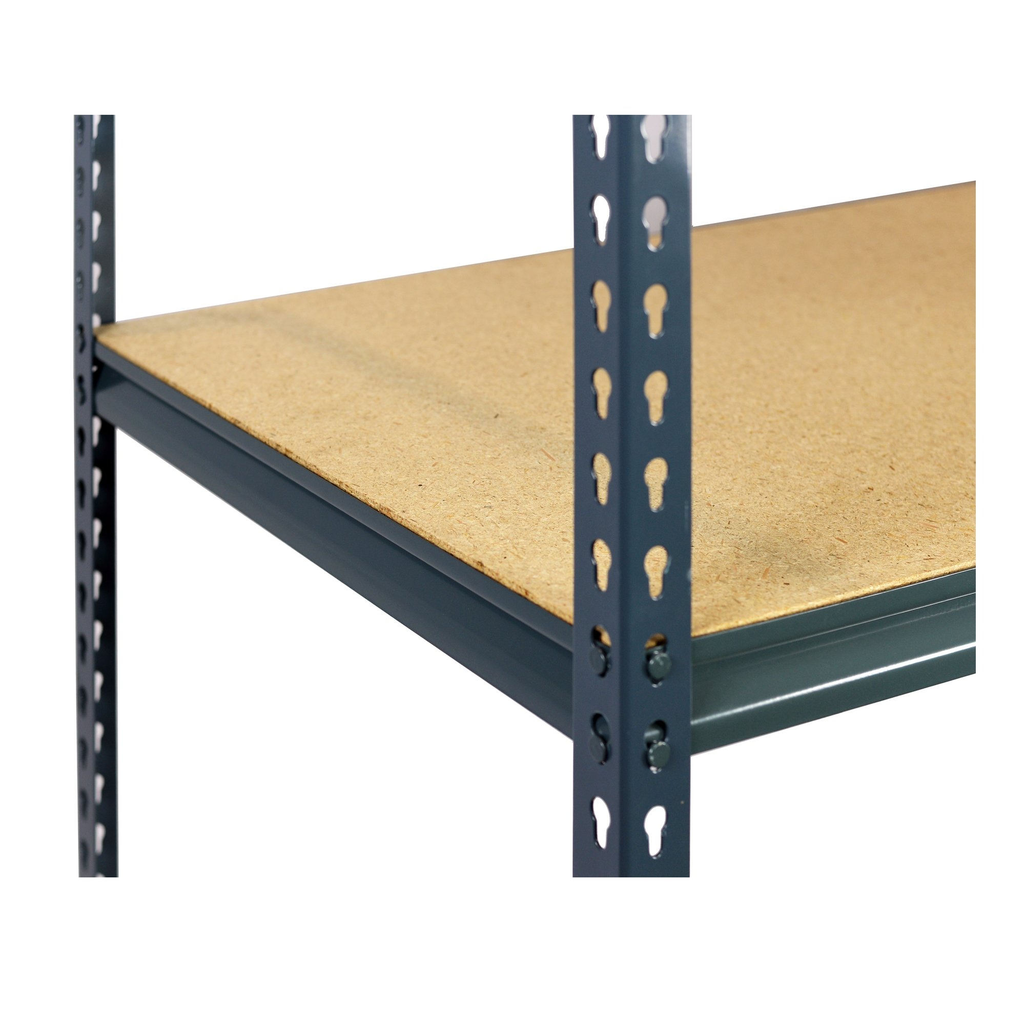 Storage Max Extra Shelf Garage Shelving Boltless, 48 x 24, Double Rivet Z-Beams, Particle Board