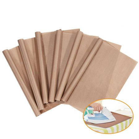 6 Pack Teflon Sheet for Heat Press Transfer Sheet Non Stick 16