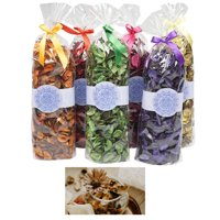 3 Large Potpourri Fragrance Bags Scented Decorative Spice Assortment Blend New !