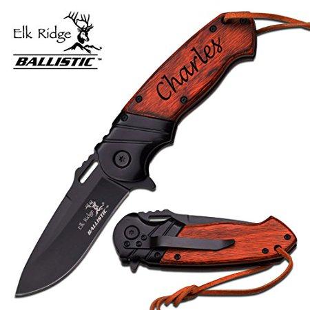Personalized, Custom Engraved Knife - Elk Ridge