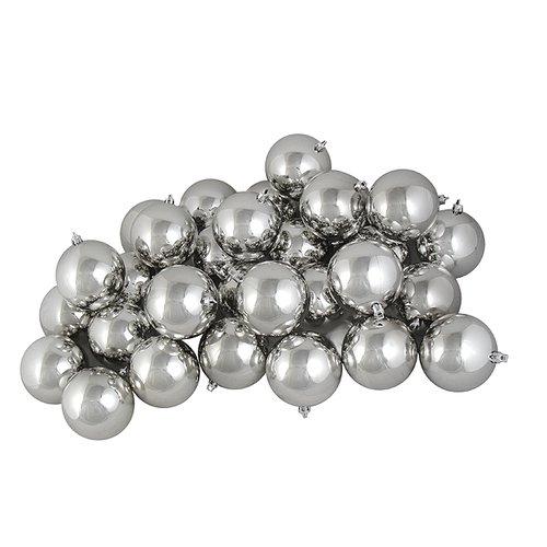 Northlight Seasonal Shatterproof Christmas Ball Ornament (Set of 32)