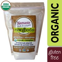 Namaste Foods Organic Arrowroot Starch Gluten Free, 18 oz Bag