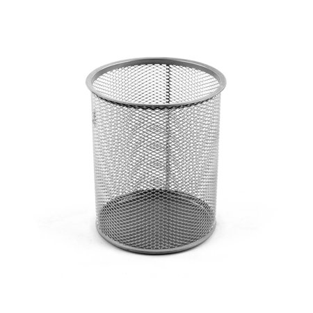 Design Ideas Giant Pencil Cup, Silver Mesh - Desk Ideas