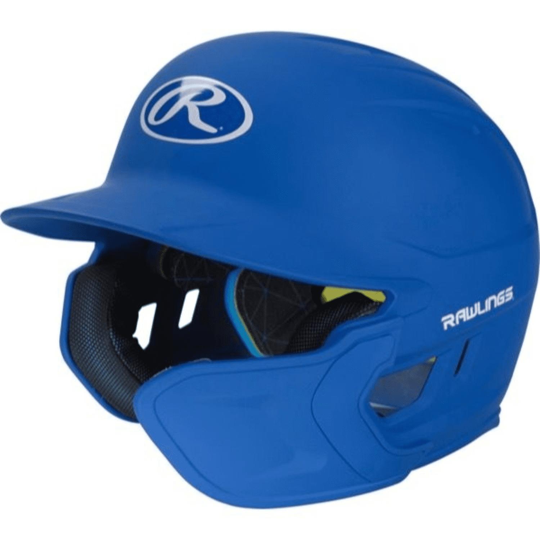 Rawlings Mach Matte Navy Blue Senior Mens Batting Helmet Baseball Batters