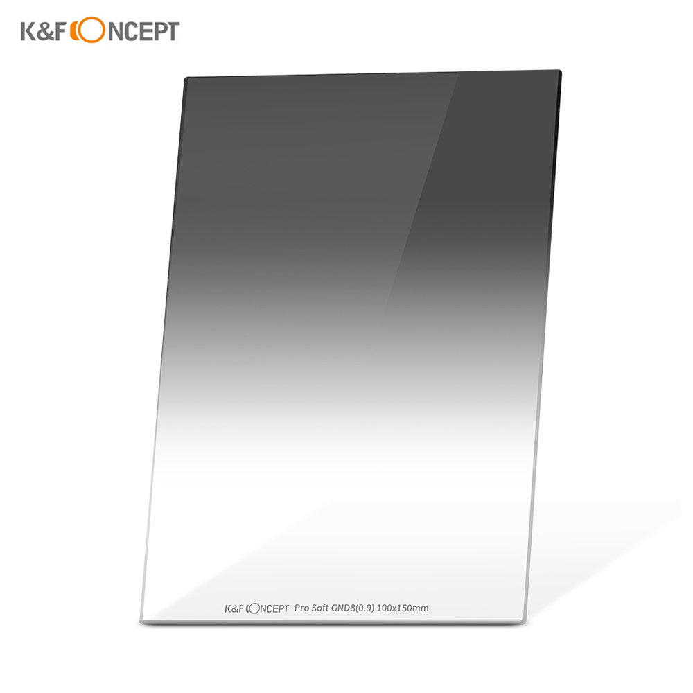 Filter HD Optical Glass Waterproof ND Lens Filter Kit GND K/&F Concept Soft GND8 with Square Filter Holder Graduated Neutral Density