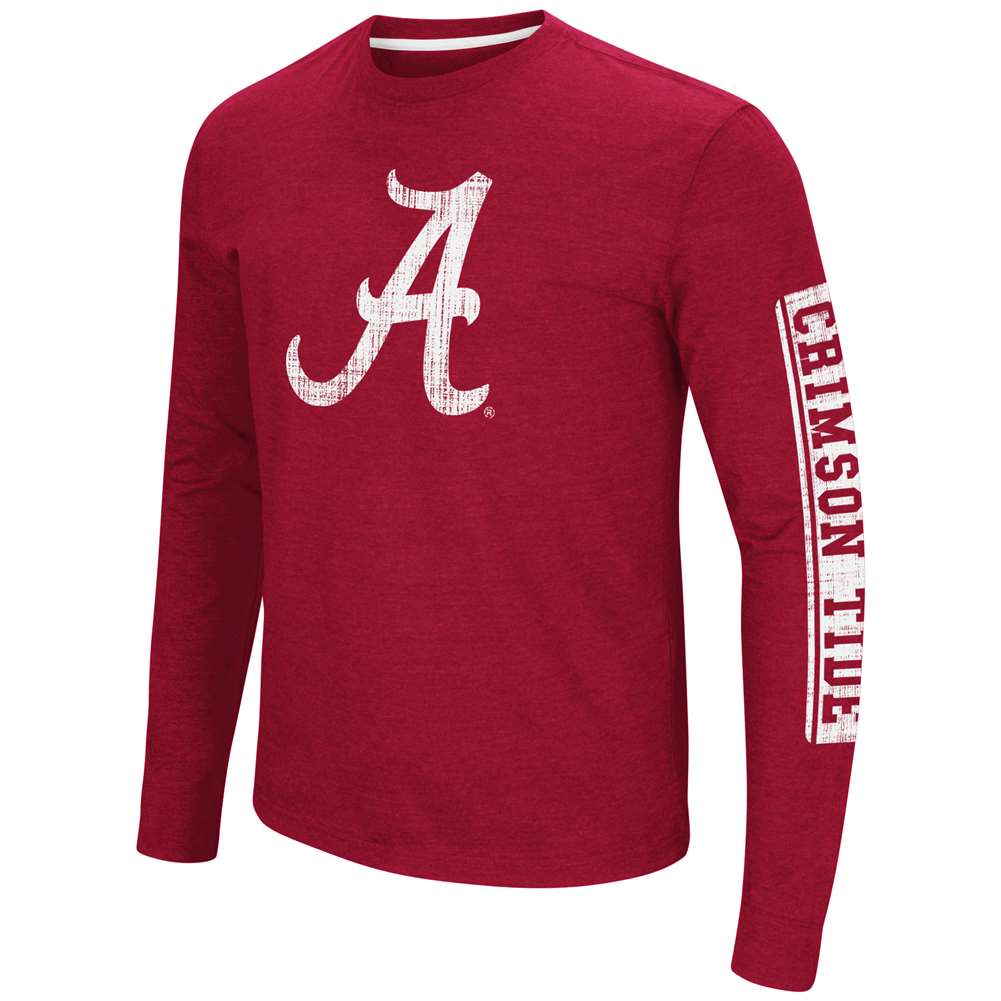 Alabama Crimson Tide Colosseum Sky Box L/S T-Shirt - Logo
