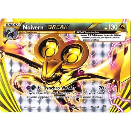 Pokemon X & Y BREAKthrough Single Card BREAK Rare Noivern BREAK