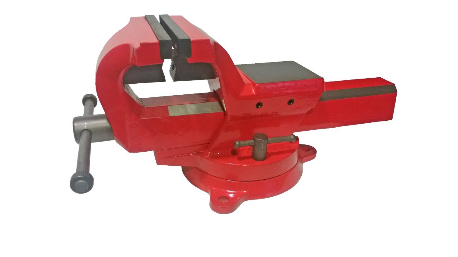 Yost Vises FSV-5 5-Inch Heavy-Duty Forged Steel Bench Vise with 360-Degree Swivel Base