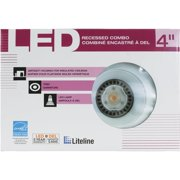 liteline baffle new construction led recessed light kit
