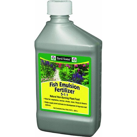 Ferti lome fish emulsion fertilizer liquid plant food for Liquid fish fertilizer
