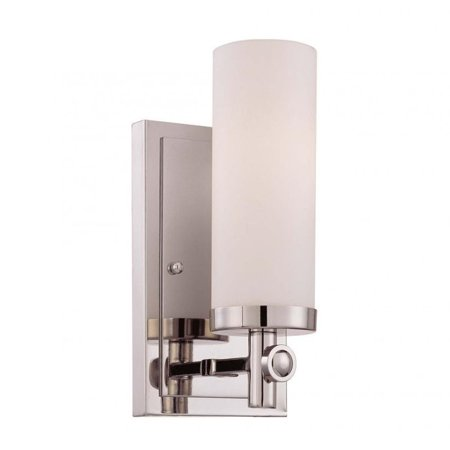 Savoy House Manhattan 1 Light Sconce in Polished Nickel
