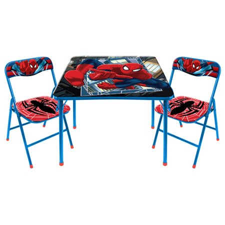 Idea Nuova Kids 3 Piece Activity Table and Chair Set