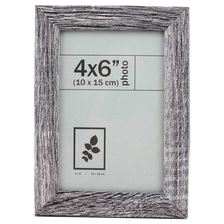 Picture Frame 4 X 6 Silver texture (Silver Sterling Wood Picture Frame)
