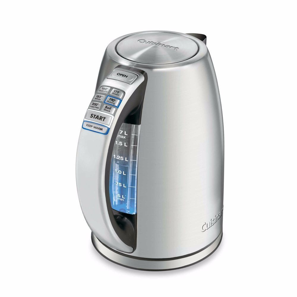 Cuisinart Perfectemp Cordless Electric Kettle (Refurbished)