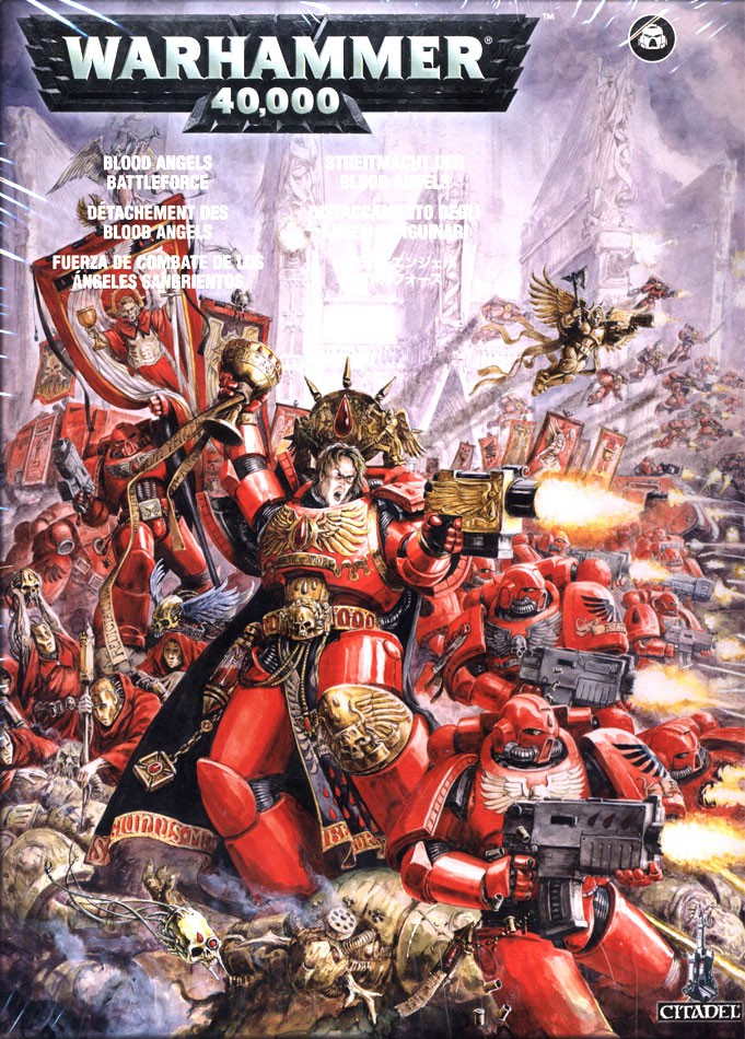 Warhammer 40,000 Space Orks Blood Angels Battleforce Set [Out of Print] by