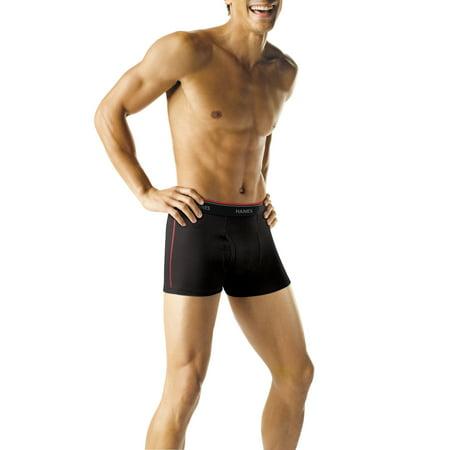 Men's Short Leg Sport Styling Boxer Briefs, 5 + 1 Bonus - Halloween Boxer Briefs