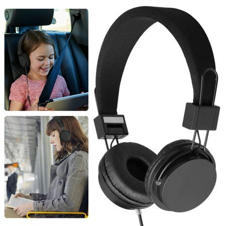 Kids Wired Ear Headphones Headband Kids Child School Earphones for iPad/Tablet iPhone Samsung and Other