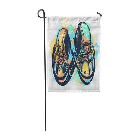 SIDONKU Romantic Symbol of Eternal Love Infinity Sign Immortality Garden Flag Decorative Flag House Banner 12x18 inch