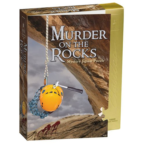 BePuzzled Classic Mystery 1000pc Jigsaw Puzzle Murder on the Rocks, USA, Brand University Games by