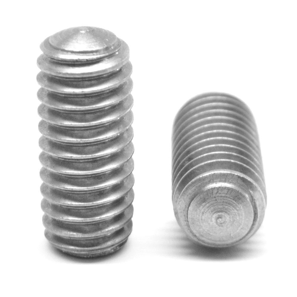#10-32 x 1//8 Fine Thread Socket Set Screw Cup Point Stainless Steel 18-8 Pk 25