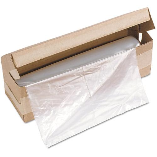 HSM of America Shredder Bags, 58 gal Capacity, 100/Roll