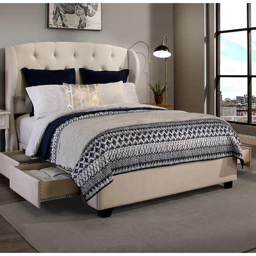 Republic Design House Archer Upholstered Storage Bed