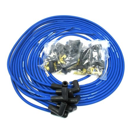 Pertronix Blue Spiral Core Magx2 8-Cylinder Spark Plug Wire Set P/N 808390