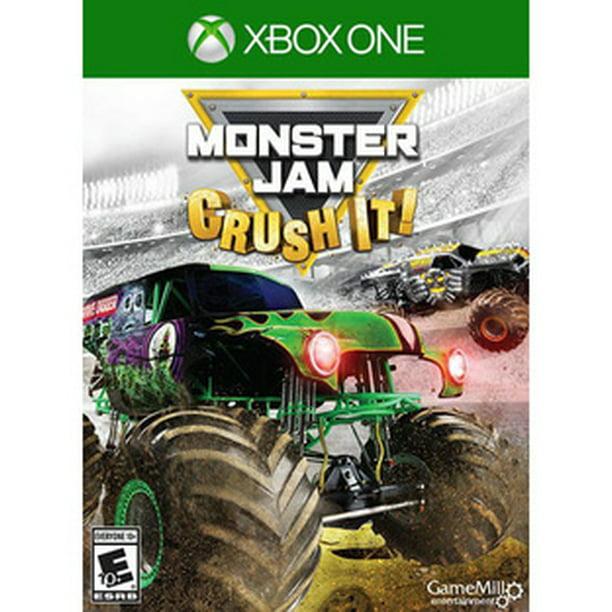 Monster Jam Game Mill Xbox One 34656000325 Walmart Com Walmart Com
