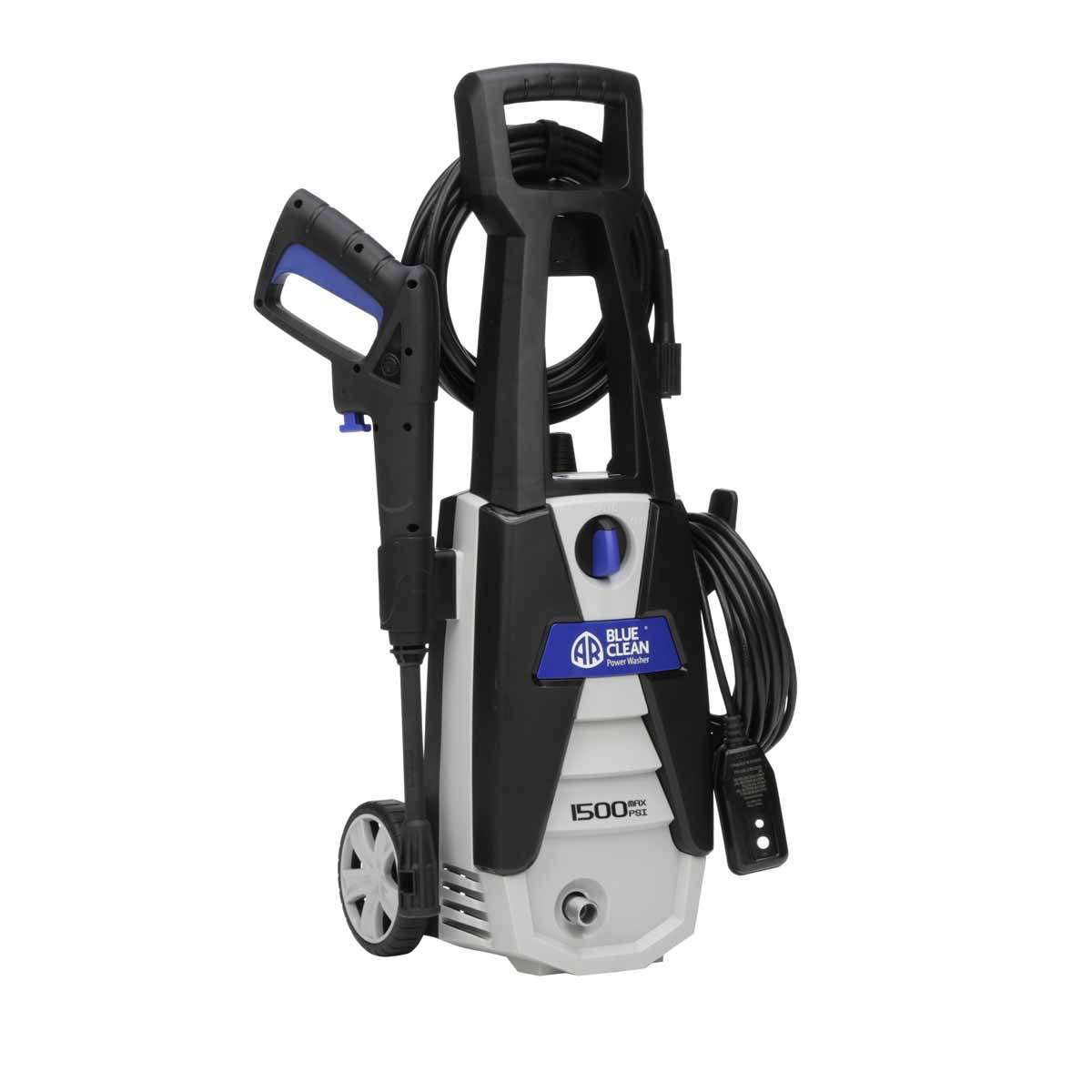 New AR Blue Clean 1500 PSI Electric Power Washer AR142S