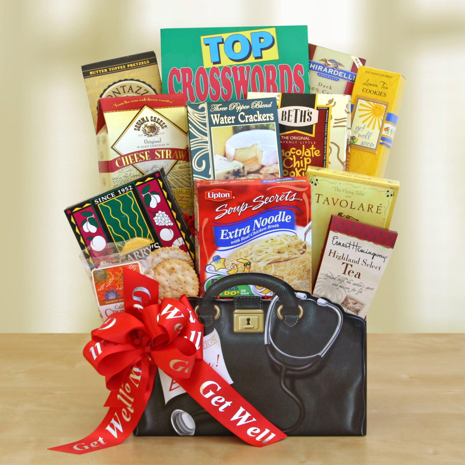 get well wishes gift basket - walmart