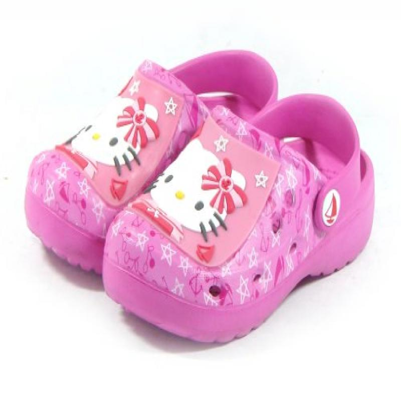 Hello Kitty Kids CROC Style Shoes for Girls Clogs Slipper...