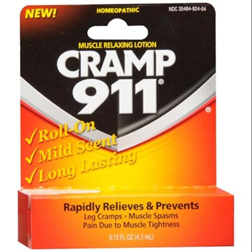 Cramp 911 Muscle Relaxing Roll-On Lotion 4.50 mL (Pack of 3)